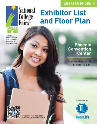 NACAC 2013 Phoenix Exhibitor List & Floor Plan