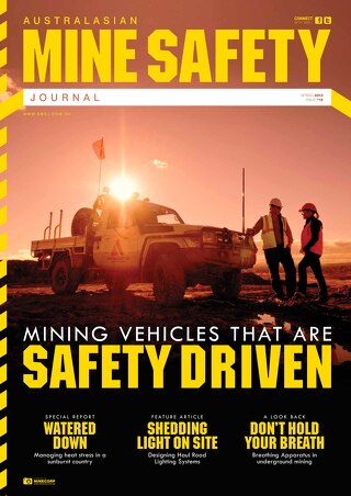 Australasian Mine Safety Journal Issue 18 Spring 2013