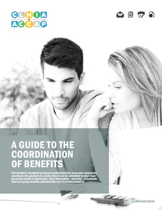 A guide to the coordination of benefits