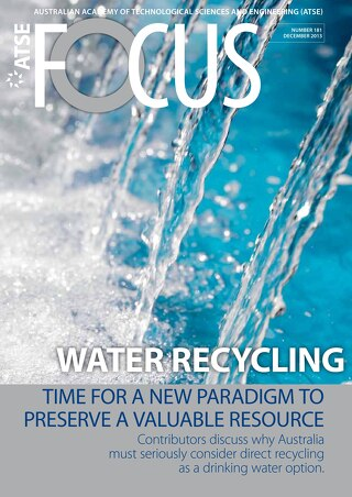 Focus 181 - Water Recycling: Time for a new paradigm to preserve a valuable resource