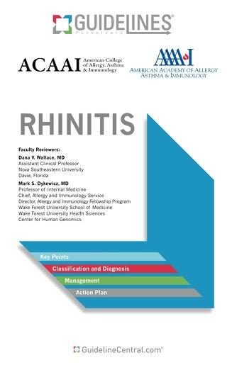 Rhinitis (ACAAI/AAAAI Bundle)