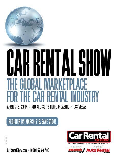 Auto Rental News FACT - Car rental show las vegas