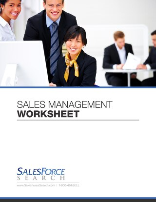 Sales Management Worksheet