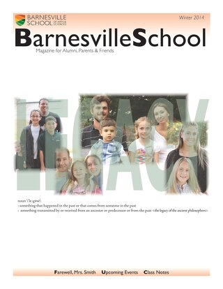 Barnesville School Magazine Winter 2014