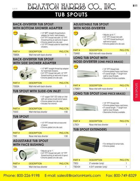 Braxton Harris Company, Inc. Product Catalog   Braxton Harris Company, Inc.  Product Catalog