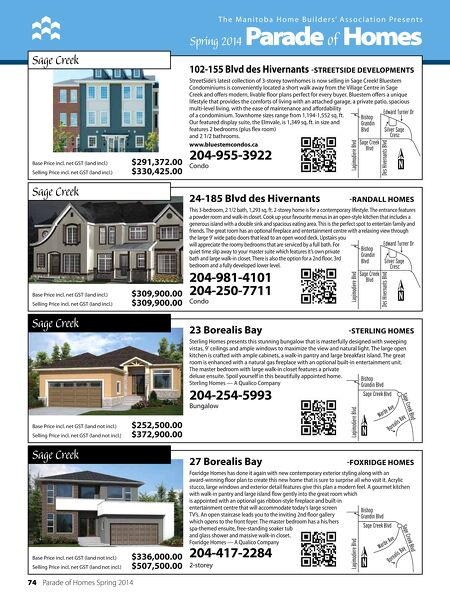 Parade of Homes - Spring Parade of Homes 2014 on