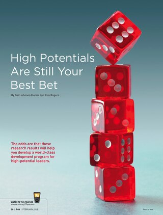 High Potentials are Still Your Best Bet - February 2011