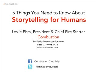 Storytelling for Humans