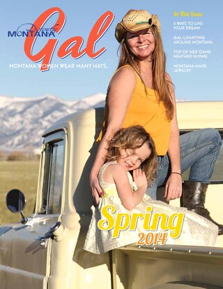 Distinctly Montana Gal Spring 2014