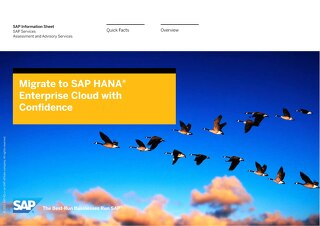 HANA Enterprise Cloud Services