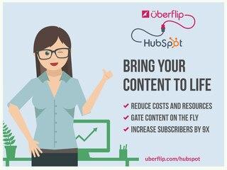 HubSpot & Uberflip Integrate