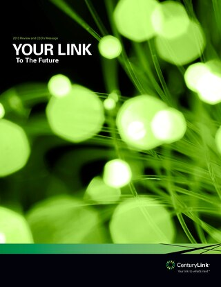 2013 CenturyLink Annual Review
