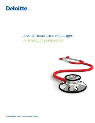 Health Insurance Exchanges - A Strategic Perspective