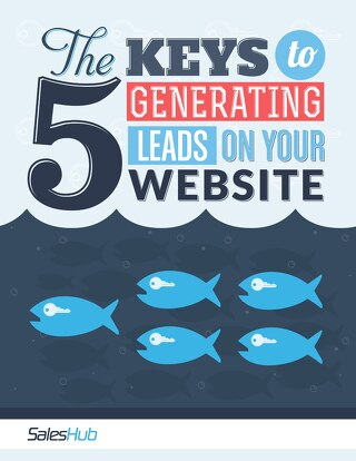 The 5 Keys to Generating Leads on Your Website