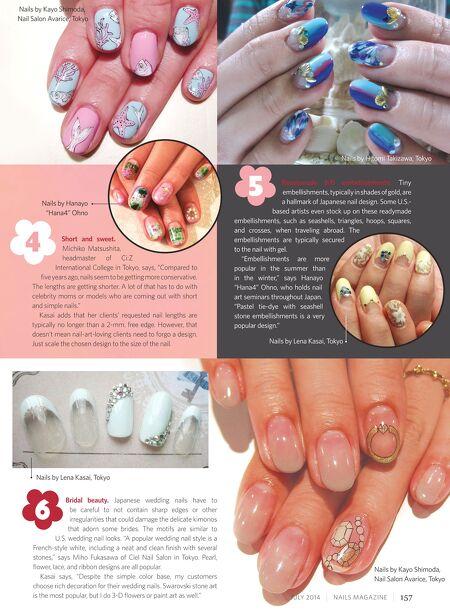 Nails Magazine Jul 2014