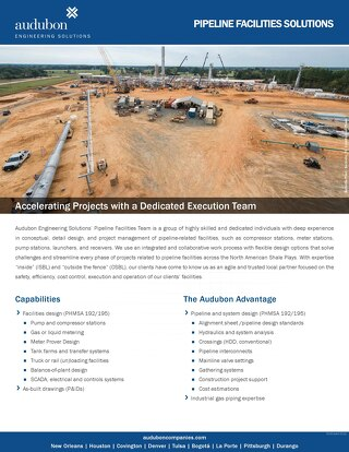 Pipeline Facilities Solutions