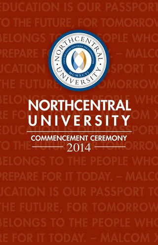 Northcentral University Graduation Program 2014
