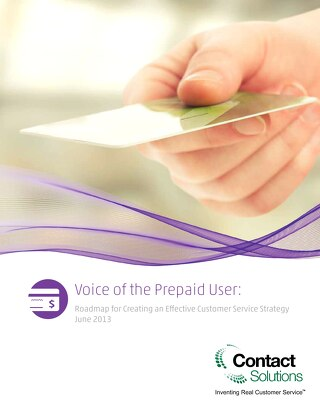 Voice of the Prepaid User