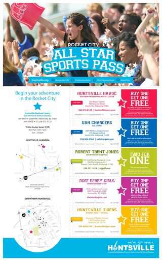 Rocket City All Star Sports Pass