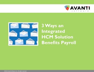 3 Ways an Integrated HCM Benefits Payroll