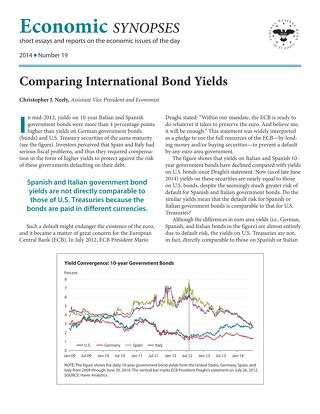 Economic Synopses - Issue 19 - 2014