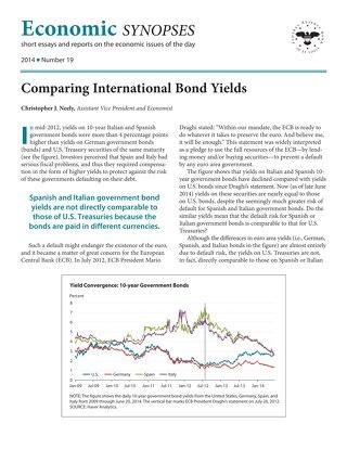 Economic Synopses - Issue 19 - 2014