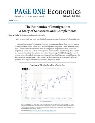 Page One Economics - May 2014