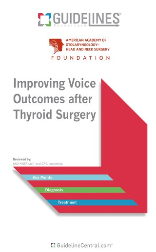 Improving Voice Outcomes after Thyroid Surgery