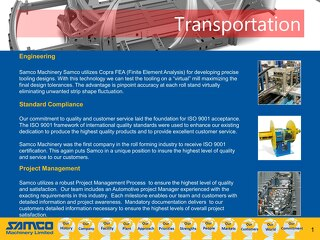 Samco Machinery Automotive Capabilities