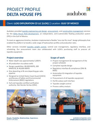 Delta House - Project Profile
