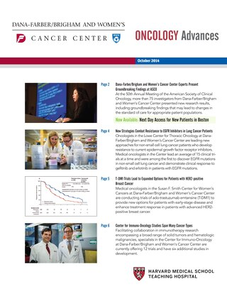 Oncology Advances October 2014