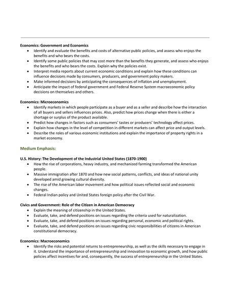 Tasc test blueprint fact sheet social studies malvernweather Gallery
