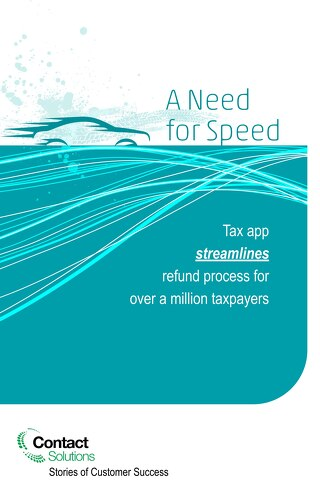 Need4Speed: Tax App Streamlines Refund Process