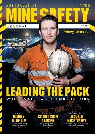 Australasian Mine Safety Journal Issue 22 Spring 2014