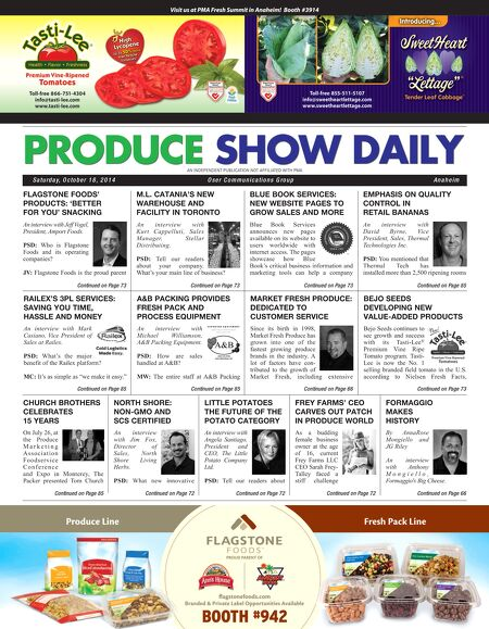 oser communications group produce show daily oct 18 2014