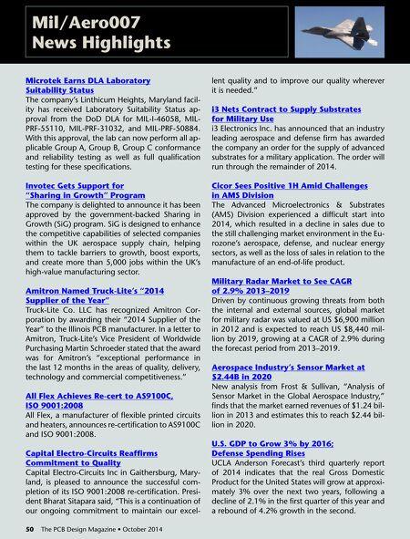 Design007 Magazine Pcbd Oct2014