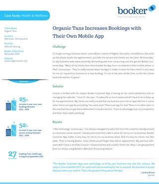 Case Study: Organic Tans