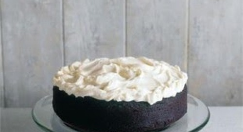 Chocolate Guinness Cake - A Treat for St Patrick's Day