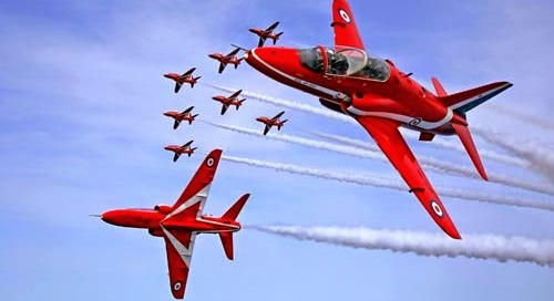 Whitby Regatta 2014 and the Red Arrows!!
