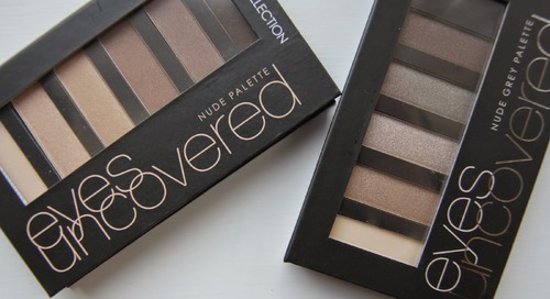 Collection Eyes Uncovered Palettes - Review & Swatches