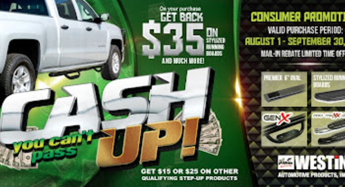 CASH UP! Step Promotion