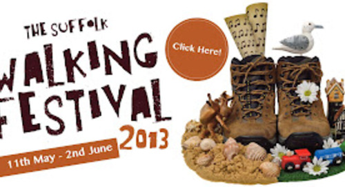 Suffolk Walking Festival 2013