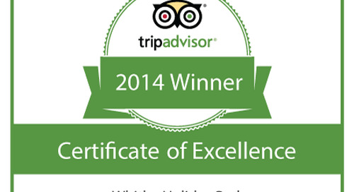 Whitby Holiday Park - Certificate Of Excellence