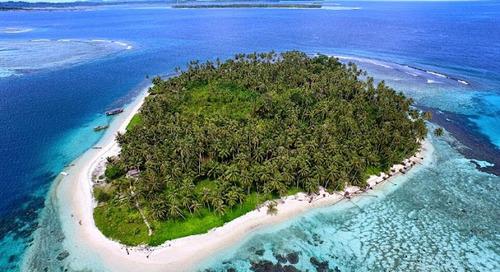 Tailana Aceh Singkil, Pulau Tropis Terindah di Indonesia.