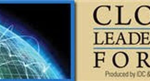 Mature conversations at the Cloud Leadership Forum – Blogging for Computerworld