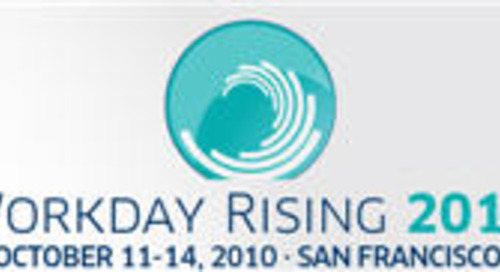Workday Rising 2010: Appirio Joins the Rising Revolution