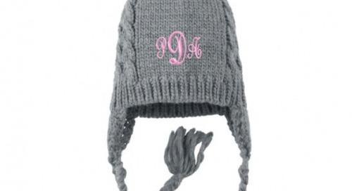 It's a frigid monogram monday…wish we had this...