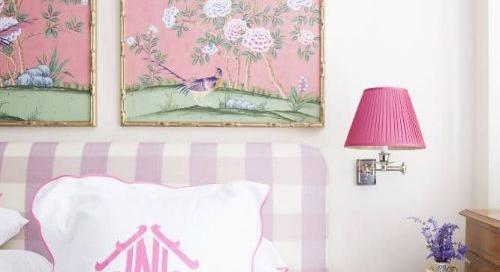 Gorgeous pink monogram