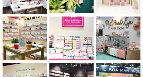 Day 1 of the National Stationery Show was a success! So many...