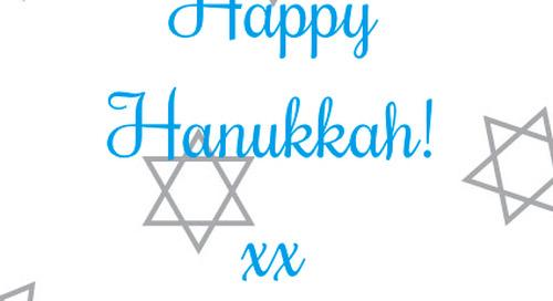 Happy Hanukkah! xx dd